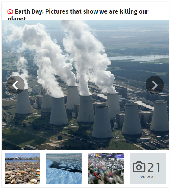 Earth Day - Pictures that show we are killing our planet